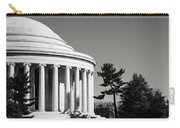 Jefferson Memorial Building In Washington Dc Carry-all Pouch