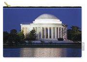 Jefferson Memorial Dusk Carry-all Pouch