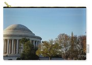 Jefferson Memorial Carry-all Pouch by Megan Cohen