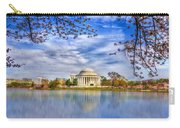 Jefferson Memorial Carry-all Pouch
