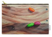 Jelly Beans On Wood Carry-all Pouch