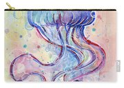 Jelly Fish Watercolor Carry-all Pouch