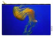 Jellyfish From The Deep Blue Carry-all Pouch by Nila Newsom