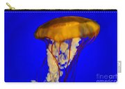 Jellyfish In Blue Waters Carry-all Pouch