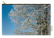Jenne Farm Winter In Vermont Carry-all Pouch