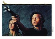Jenny Agutter And Michael York, Logan's Run Carry-all Pouch