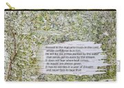 Jeremiah 17 Carry-all Pouch