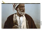 Jerusalem - Sheik Of Palestinian Village Carry-all Pouch