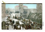 Jerusalem: Bazaar, C1900 Carry-all Pouch
