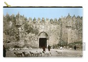 Jerusalem: Damascus Gate Carry-all Pouch