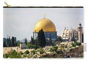 Jerusalem Dome Of The Rock  Carry-all Pouch