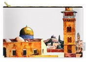 Jerusalem Domes And Minarets Carry-all Pouch