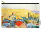 Jerusalem In 1899 Carry-all Pouch