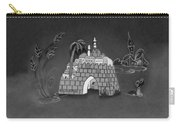 Jerusalem Israel In Monochrome Carry-all Pouch