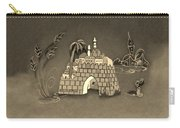 Jerusalem Israel In Sepia Carry-all Pouch