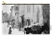 Jerusalem Street In 1914 Carry-all Pouch