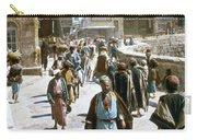 Jerusalem Street Scene Carry-all Pouch