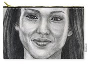 Jessica Alba Portrait Carry-all Pouch
