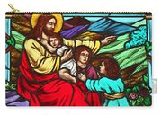 Jesus And Children Carry-all Pouch