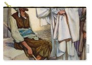 Jesus And The Blind Man Carry-all Pouch