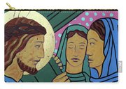 Jesus And The Women Of Jerusalem Carry-all Pouch