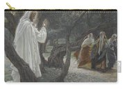 Jesus Appears To The Holy Women Carry-all Pouch