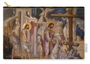 Jesus Arrest And Preparation For Crucifiction Carry-all Pouch