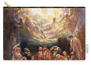 Jesus Ascending Into Heaven Carry-all Pouch by William Brassey Hole