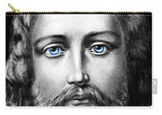 Jesus Blue Eyes Carry-all Pouch