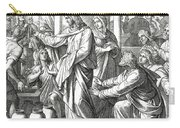 Jesus Changes Water Into Wine, Gospel Of John Carry-all Pouch