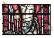 Jesus Christ Crucifixtion Stained Glass Carry-all Pouch