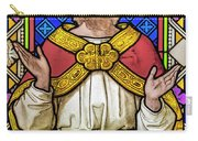 Jesus Christ Stained Glass Carry-all Pouch