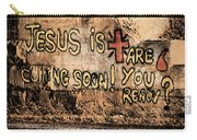 Jesus Is Coming Soon Carry-all Pouch