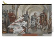 Jesus Led From Herod To Pilate Carry-all Pouch by Tissot