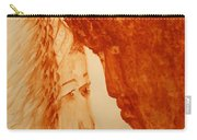 Jesus Meets Mother Mary On The Road To Calvary Carry-all Pouch