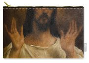 Jesus Meets The Daughters Of Jerusalem. Jesus Comfort Them. 8. Station Of The Cross Carry-all Pouch