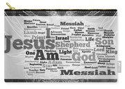 Jesus Messiah Carry-all Pouch