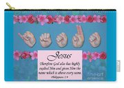 Jesus Name Above All Names Carry-all Pouch