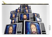 Jesus On Tv Carry-all Pouch