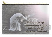 Jesus Prayer Carry-all Pouch