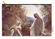Jesus Revealing Himself To Mary Magdalene Carry-all Pouch
