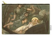 Jesus Sleeping During The Storm Carry-all Pouch by John Lawson