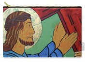 Jesus Takes Up His Cross Carry-all Pouch
