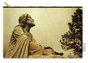 Jesus Teach Us To Pray - Christian Art Prints Carry-all Pouch