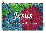 Jesus The Reason For The Season Christmas  Carry-all Pouch