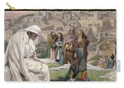 Jesus Wept Carry-all Pouch by Tissot