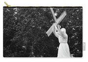 Jesus With Cross Carry-all Pouch