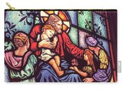 Jesus With The Children Carry-all Pouch
