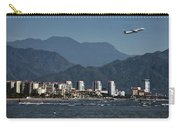 Jet Plane Taking Off From Puerto Vallarta Airport With Pacific O Carry-all Pouch
