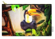 Jewel Of The Amazon Toco Toucan  Carry-all Pouch